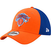 New Era Men's New York Knicks On-Court 39Thirty Stretch Fit Hat