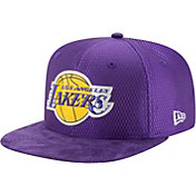 New Era Men's Los Angeles Lakers On-Court 9Fifty Adjustable Snapback Hat