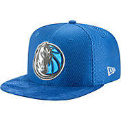 New Era Men's Dallas Mavericks On-Court 9Fifty Adjustable Snapback Hat