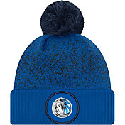 New Era Men's Dallas Mavericks On-Court Knit Hat