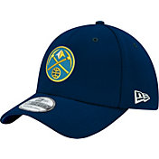 New Era Men's Denver Nuggets 39Thirty Navy Flex Hat