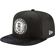 New Era Men's Brooklyn Nets On-Court 9Fifty Adjustable Snapback Hat
