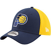 New Era Men's Indiana Pacers On-Court 39Thirty Stretch Fit Hat