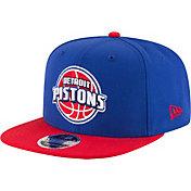 New Era Men's Detroit Pistons 9Fifty Adjustable Snapback Hat