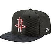 New Era Men's Houston Rockets 9Fifty Adjustable Snapback Hat
