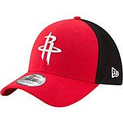 New Era Men's Houston Rockets On-Court 39Thirty Stretch Fit Hat