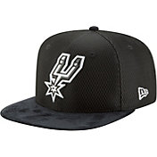 New Era Men's San Antonio Spurs On-Court 9Fifty Adjustable Snapback Hat