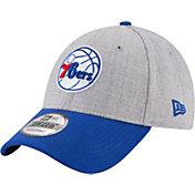 New Era Men's Philadelphia 76ers 9Forty Adjustable Hat