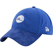New Era Men's Philadelphia 76ers On-Court 9Twenty Adjustable Hat
