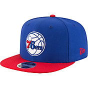 New Era Men's Philadelphia 76ers 9Fifty Adjustable Snapback Hat