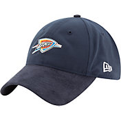 New Era Men's Oklahoma City Thunder On-Court 9Twenty Adjustable Hat