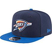 New Era Men's Oklahoma City Thunder 9Fifty Adjustable Snapback Hat