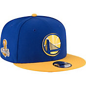 New Era Men's 2017 NBA Champions Golden State Warriors 9Fifty 2-Tone Adjustable Snapback Hat