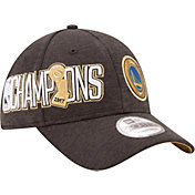 New Era Men's 2017 NBA Finals Golden State Warriors 9Forty Black/Gold Adjustable Hat