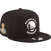 New Era Men's 2017 NBA Champions Golden State Warriors 9Fifty Black Adjustable Snapback Hat