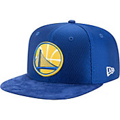 New Era Men's Golden State Warriors On-Court 9Fifty Adjustable Snapback Hat