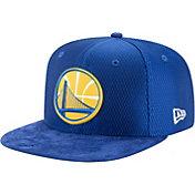 New Era Men's Golden State Warriors On-Court 9Fifty Adjustable Snapback Hat