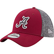 New Era Men's Alabama Crimson Tide Grey Fierce Fill 39THIRTY Hat