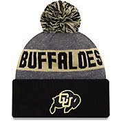 New Era Men's Colorado Buffaloes Black NE16 Sport Knit Beanie