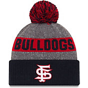 New Era Men's Fresno State Bulldogs Grey NE16 Sport Knit Beanie