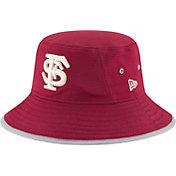 New Era Men's Florida State Seminoles Garnet NE16 Training Bucket Hat