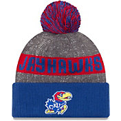 New Era Men's Kansas Jayhawks Blue Sport Knit Beanie