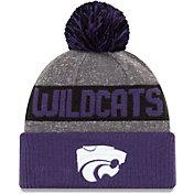 New Era Men's Kansas State Wildcats Grey NE16 Sport Knit Beanie