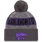 New Era Men's Kansas State Wildcats Grey Sport Knit Beanie