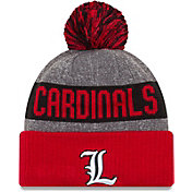 New Era Men's Louisville Cardinals Cardinal Red Sport Knit Beanie