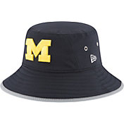 New Era Men's Michigan Wolverines Blue NE16 Training Bucket Hat