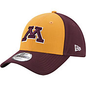 New Era Men's Minnesota Golden Gophers Gold/Maroon The League Blocked 9FORTY Adjustable Hat