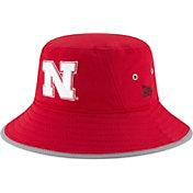 New Era Men's Nebraska Cornhuskers Scarlet NE16 Training Bucket Hat