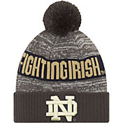 New Era Men's Notre Dame Fighting Irish Grey Sport Knit Beanie
