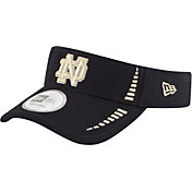 New Era Men's Notre Dame Fighting Irish Navy Speed Visor