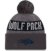 New Era Men's Nevada Wolf Pack Grey Sport Knit Beanie