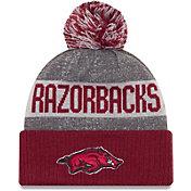 New Era Men's Arkansas Razorbacks Cardinal Sport Knit Beanie