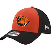 New Era Men's Oregon State Beavers Orange/Black The League Blocked 9FORTY Adjustable Hat