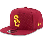 New Era Men's USC Trojans Cardinal Color Peek 9FIFTY Hat