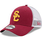 New Era Men's USC Trojans Cardinal Trucker Duel 9FORTY Hat