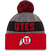 New Era Men's Utah Utes Crimson Sport Knit Beanie