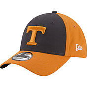New Era Men's Tennessee Volunteers Gray/Tennessee Orange The League Blocked 9FORTY Adjustable Hat