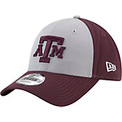New Era Men's Texas A&M Aggies Grey/Maroon The League Blocked 9FORTY Adjustable Hat