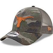 New Era Men's Texas Longhorns Burnt Orange Trucker Duel 9FORTY Hat