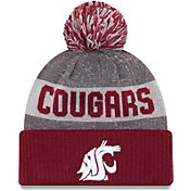 New Era Men's Washington State Cougars Crimson Sport Knit Beanie