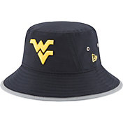 New Era Men's West Virginia Mountaineers Blue NE16 Training Bucket Hat