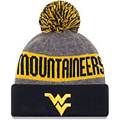 New Era Men's West Virginia Mountaineers Blue Sport Knit Beanie