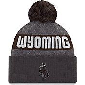 New Era Men's Wyoming Cowboys Brown NE16 Sport Knit Beanie