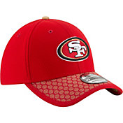 New Era Men's San Francisco 49ers Sideline 2017 On-Field 39Thirty Stretch Fit Hat