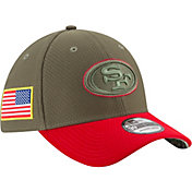 New Era Men's San Francisco 49ers Salute to Service 2017 39Thirty Stretch Fit Hat