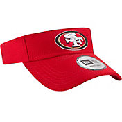 New Era Men's San Francisco 49ers 2017 Training Camp Red Adjustable Visor